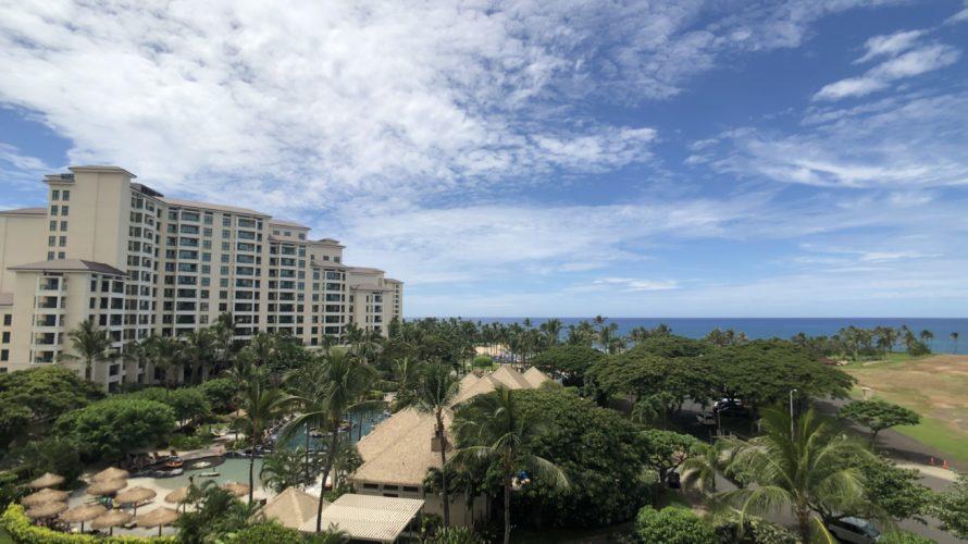 20190922. ハワイの天気予報はあてにならない