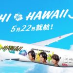 Flying Hunuの2日前、Arashi Hawaii Jetが飛んでいた!