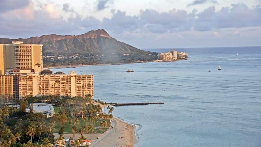 マリオット、シェラトンのハワイのライブカメラの復活を願う!